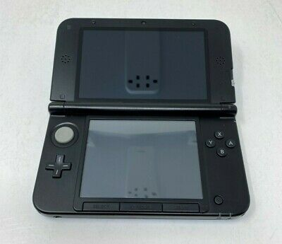 AU193.37 • Buy Nintendo 3DS XL Blue Black Handheld System Tested Works Top Screen Issue *Read*