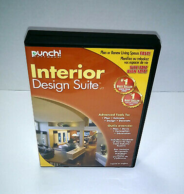 $ CDN36.26 • Buy Punch! Interior Design Suite PC-DVD W/ CD-KEY Windows XP Vista 7 8 10