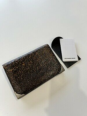 AU85 • Buy Alexander Wang Textured Cracked Leather Wallet