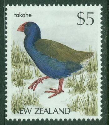 AU7 • Buy New Zealand. 1988. $5 Takahe. MUH.