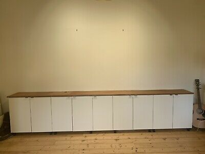 AU50 • Buy Ikea Cabinets With Solid Timber Top