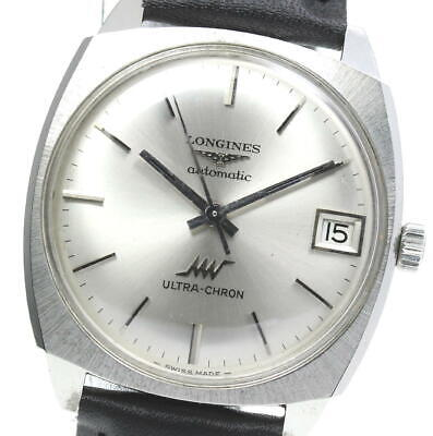 £307.54 • Buy LONGINES Ultra-chron Date Silver Dial Automatic Men's Watch_596788