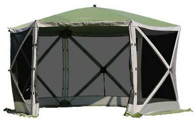 Quest Instant Screen House 6 UV 50 Plus Shelter Garden Camping Gazebo 120051 • 349.99£