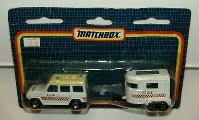 $ CDN95 • Buy Matchbox Superfast TP-117 Mercedes G Wagon RARE YELLOW ROOF  POLIZEI  MIB