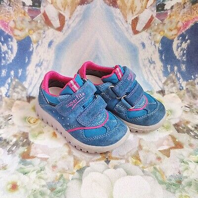 £15 • Buy Superfit Goretex Waterproof Leather Trainers Girls Kids Shoes Size 21 UK 4.5