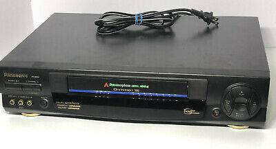 AU64.63 • Buy Panasonic PV-9664 4 Head OmniVision VCR VHS Player - TESTED WORKS