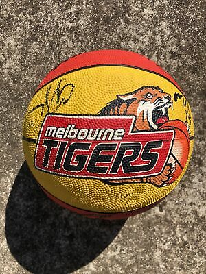 AU24.99 • Buy Melbourne Tigers Basketball 2013 Signed By Entire Team - NBL - Spalding