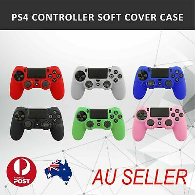 AU8.59 • Buy Soft Silicone Cover Skin Rubber Grip Case For Sony Playstation 4 PS4 Controller