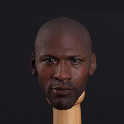 $55.99 • Buy 1/6 NBA Michael Jordan Head Sculpt For ENTERBAY/HOT TOYS Action Figure Body