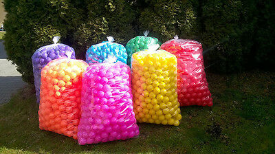 £170 • Buy 1000 Brand New Soft Play Balls -ball Pit, Pool , Commercial Grade Ce 8cm