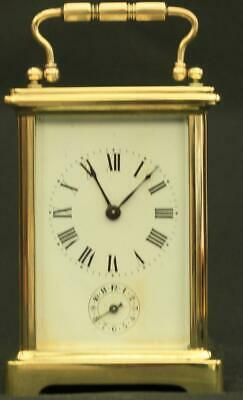 AU1077.22 • Buy Couillett Freres Antique French 8 Day Alarm Carriage Clock