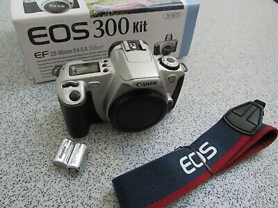 £19.99 • Buy Boxed Canon EOS 300 Film Camera Body Only (BM22)