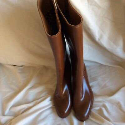 £25 • Buy Heeled Rubber Boots Wellies Fetish