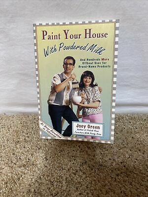$5 • Buy Paint Your House With Powdered Milk And Hundreds More Offbeat Uses For...