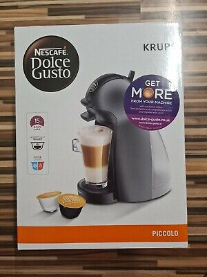 $76.47 • Buy Nescafe Dolce Gusto Piccolo Krups Anthracite Coffee Machine KP100B40 NEW BOXED