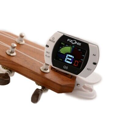 $ CDN17.43 • Buy Digital Chromatic Clip Guitar Tuner For Guitar Ukulele Instruments Calibration