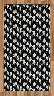 $59.99 • Buy Magnolia Area Rug Decorative Flat Woven Accent Rug Home Decor 2 Sizes