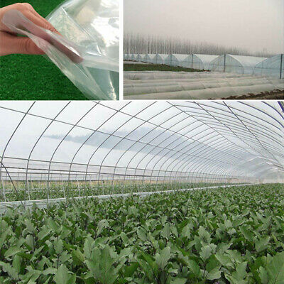 £16.80 • Buy Thick Clear Heavy Duty POLYTHENE SHEETING Roll Greenhouse Plastic Cover Sheeting