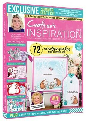 £8.45 • Buy Crafter's Companion CRAFTERS INSPIRATION Issue 30 Magazine - Summer 2021 Edition