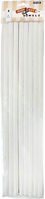 £5.95 • Buy PME Easy Cut Cake Dowels Hollow Pillars Rods 12 Or 16 Inch FREE DELIVERY!
