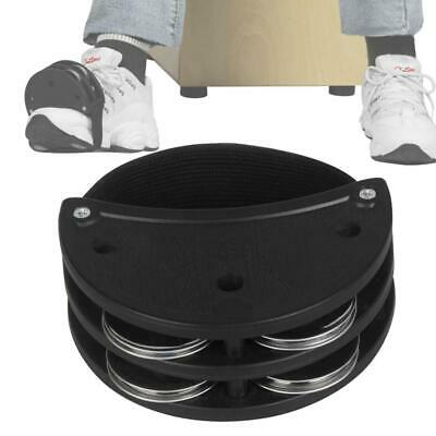 £4.23 • Buy ABS Semicircle Double Row Foot Bell Cajon Drum Partner Percussion Accessories
