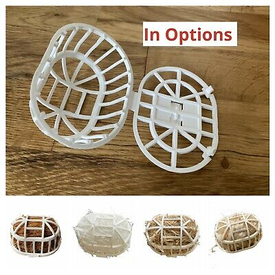 £12.99 • Buy 10x Finch ,Canary Nesting Material Holder Coco Jute Filled For Cage Aviary Birds