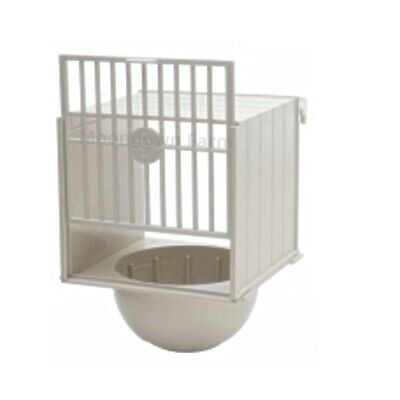 Canary Nest Pan Plastic Box Hangs On Outside Of Cage Ideal For Small Birds  • 6.95£