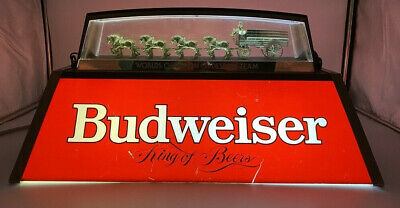 $ CDN302.24 • Buy Budweiser World Champion Clydesdale Team King Of Beers Pool Bar Poker Light