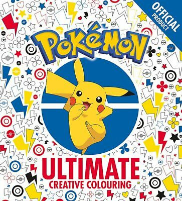 £4.79 • Buy The Official Ultimate Creative Colouring By Pok??mon New Paperback Book