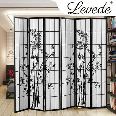 AU144.50 • Buy Levede 6 Panel Free Standing Foldable Timber Room Divider Privacy Screen With Ba