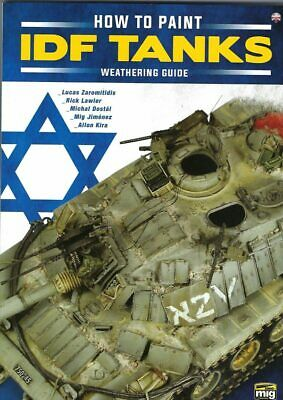 $26.11 • Buy How To Paint IDF Tanks Weathering Guide Book Ammo Mig