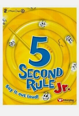 AU16.32 • Buy 5 Second Rule Junior Game New Cheapest On EBay A0105