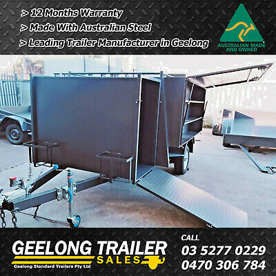 AU4290 • Buy 7x5 Lawn Mover Trailer | Made In Geelong | Geelong Trailers