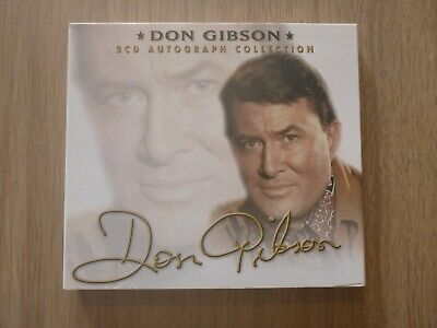 £7.99 • Buy Don Gibson - 2 CD Autograph Collection (56 Tracks)