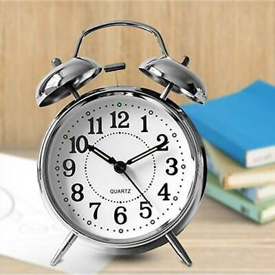 £7.39 • Buy Retro Loud Double Bell Mechanical Wound Alarm Clock Kid Gift New