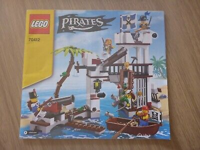 £7.99 • Buy LEGO Pirates 70412 Soldiers Fort - Instruction Manual Only