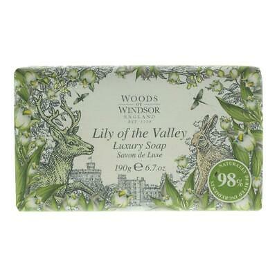 £8.95 • Buy Woods Of Windsor Lily Of The Valley Luxury Soap 190g