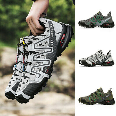 £24.95 • Buy Men's Hiking Shoes Outdoor Trekking Sneaker Sports Athletic Running Shoes