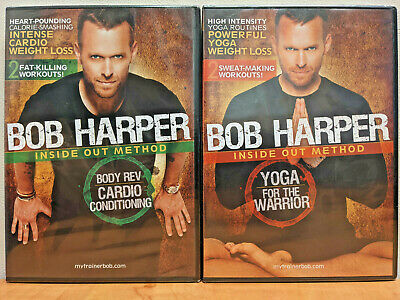 Bob Harper Inside Out Method Body Rev Cardio Conditioning & Yoga For The Warrior • 21.21£