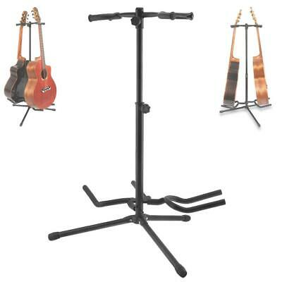 $ CDN31.80 • Buy 2pcs Aluminum Alloy & Sponge Floor Guitar Stand With Stable Tripod For Display
