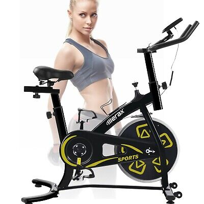 £149 • Buy LCD Console Exercise Bikes Indoor Cycling Bicycle Home Fitness Workout Cardio UK