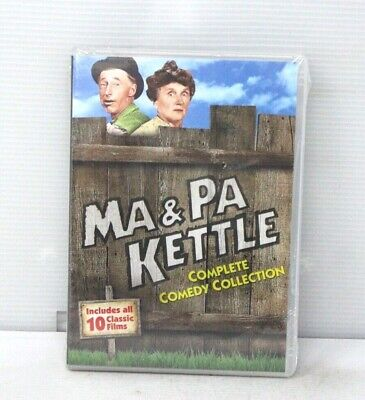 $15.97 • Buy Ma And Pa Kettle: Complete Comedy Collection (DVD) - NEW (Read Des.)