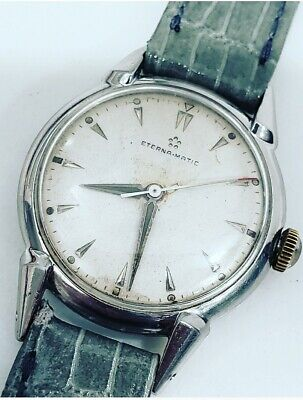 Vintage Eterna Matic Cal 1248T Automatic Mens Stainless Steel 33mm Watch  • 280.04£