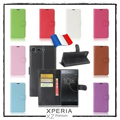 AU14.46 • Buy Case Cover Xcolors Leather PU Leather Wallet Shell Sony Xperia Xz Premium