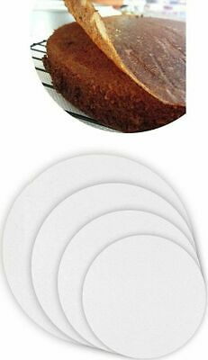 £2.14 • Buy 50 X Non Stick Round Grease Proof Circles  Baking Parchment Paper Cake Tin Liner