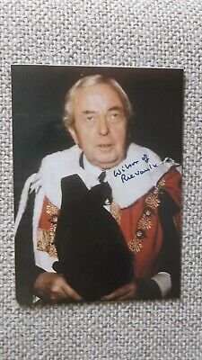 £27.99 • Buy Harold Wilson Autograph Hand Signed Photograph Original PM Prime Minister
