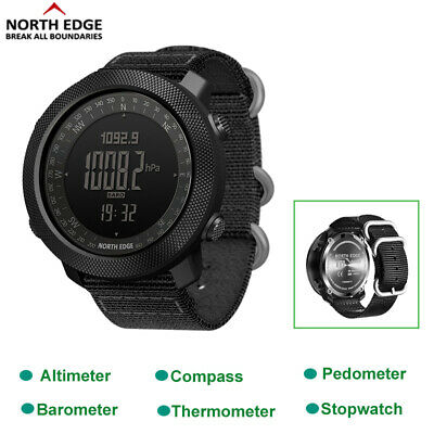 £40.97 • Buy NORTH EDGE Military Army Sports Watch Altimeter Compass Swimming Smartwatch Gift