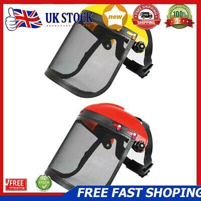 £9.07 • Buy Electric Cutting Chainsaw Safety Helmet Lawnmower Trimmer Protective Mask