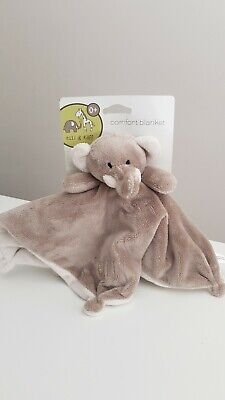 £6.99 • Buy BNWT Ellie And Raff Elephant Rattle Comforter Soother Soft Toy