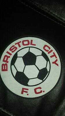 £3.99 • Buy Bristol City Fc Vintage 80.s 6  Printed Sew Patch. Coat.or T Shirt